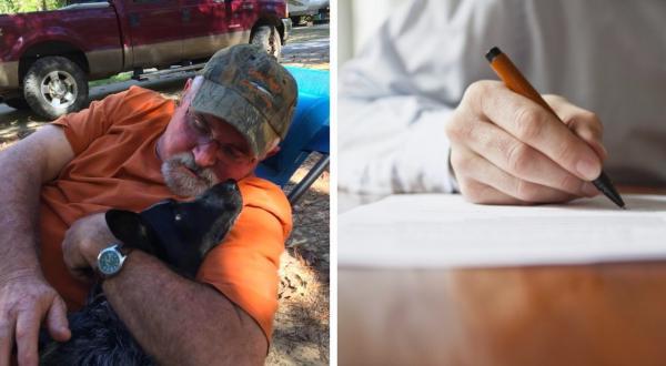 Охотник нашёл в лесу записку и отложил ружьё. Послание сразило его самого - пришлось срочно искать автора