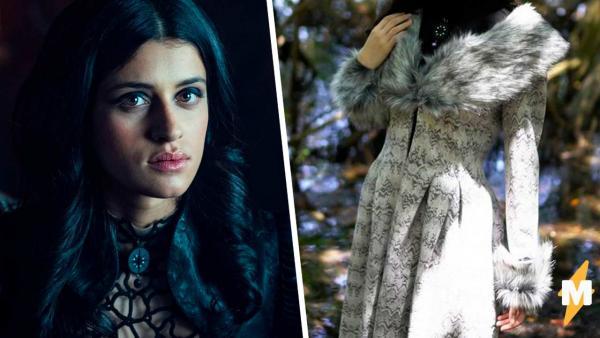 Косплеерша взглянула на актрису из «Ведьмака», и новый образ готов. Чтобы стать Йен, она просто надела платье