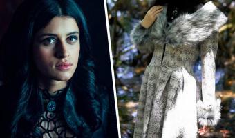 Косплеерша увидела актрису «Ведьмака» — и сбой матрицы готов. Чтобы стать второй Йен, она просто надела платье