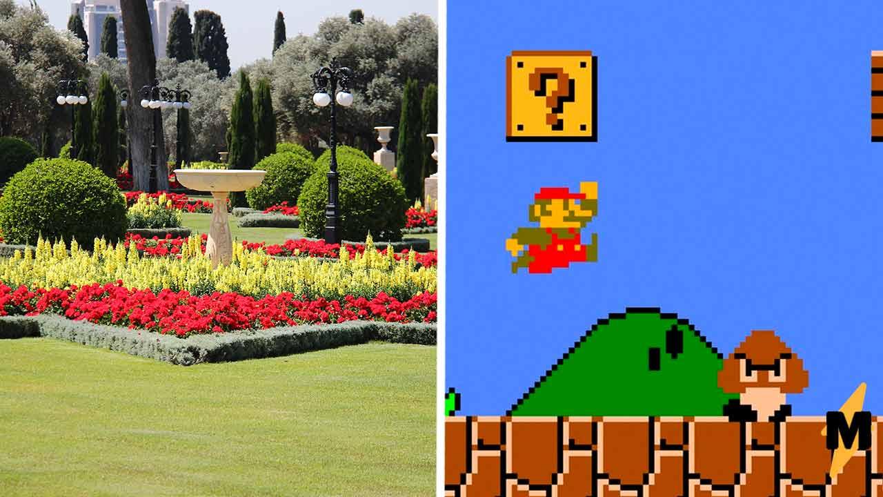 Мэрия города обновила площадь, и у жителей истерика. Жить в мире игры Марио в их планы точно не входило