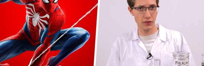 Учёный сделал паутину Спайдермена и отменил опыты Питера Паркера. Алло, Marvel, реальный герой не интересует?