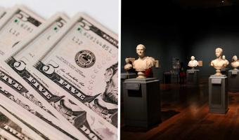 Художник выставил на аукцион невидимую скульптуру и не прогадал. Вы не поверите, за сколько он её продал