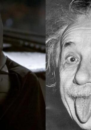 Художница омолодила Альберта Эйнштейна, и девушки потеряли сон. Они поняли, что видели учёного в «Бэтмене»