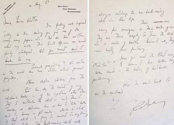 Студентка получила письмо от писателя, где он раскрыл тайну своего успеха. Секрет ушёл с молотка за 50 тысяч