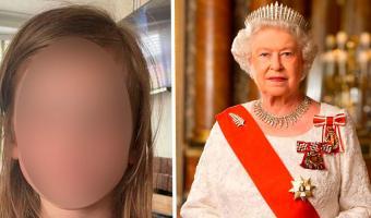 Пятилетка получила письмо от Елизаветы II. Чтобы оказаться на её месте, надо уметь рисовать круг и треугольник