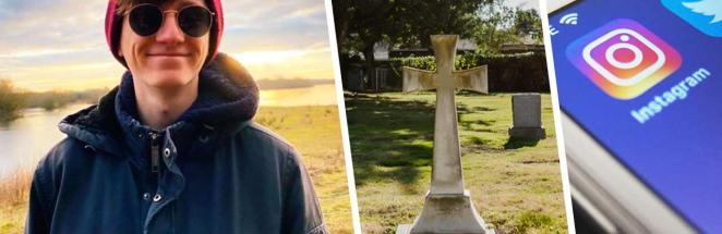 Блогер зашёл в инстаграм и понял, что проспал свои похороны. Но веселье началось, когда он захотел воскреснуть