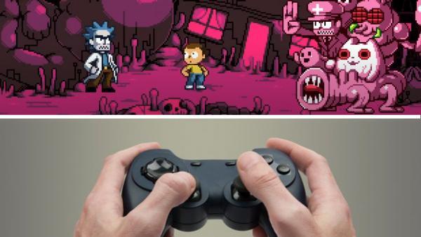 """Аниматор переместил """"Рика и Морти"""" в 8-битный мир и сломал фанатов. Они уверены: скоро выйдет полноценная игра"""