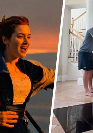 «Челлендж Титаник» проверит вас на прочность. Джеком с Роуз в нём могут стать те, чья спина крепче айсберга