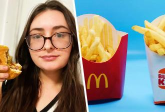 Что лучше — «Макдоналдс» или «Бургер Кинг»? Журналистка узнала, где вкуснее, и её опыт сделал клоуна королём
