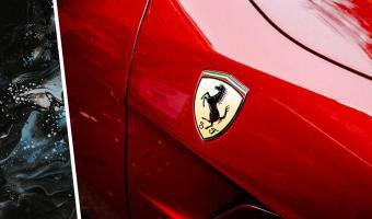 Блогер снял на видео Ferrari, и её цвет сломает вам глаза. Глядя на спорткар, можно подумать, что он забагован