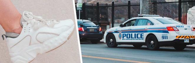Полицейские увидели торчащую из авто ногу и решили — это похищение. Они ещё не знали, как им придётся краснеть
