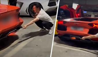 Друзья решили пожарить мясо выхлопом Lamborghini, и что могло пойти не так? Ответ — на видео с ароматом дымка