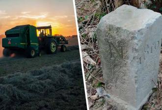 В Бельгии фермер не выдержал и сдвинул камень, мешавший трактору. Зря — с валуном ушла часть соседней Франции