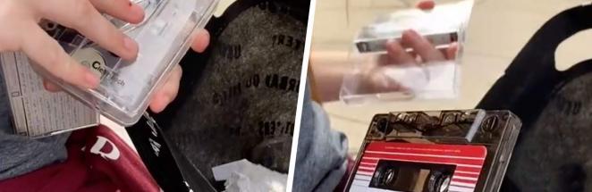 Подросток купила кассетник, и бумерам видео лучше не смотреть. То, что девочка сделала с декой, — боль