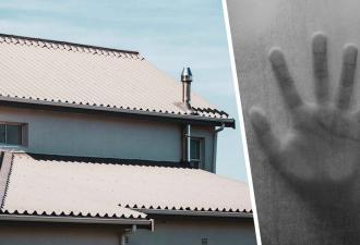 Семья услышала шум из-под потолка и вызвала рабочих. Увидев, кто живёт на их крыше, супруги решили бежать
