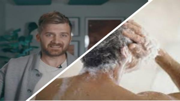 Блогер 5 лет не мыл голову шампунем и рад. Глядя на его фото, вы не угадаете, как он ухаживает за волосами