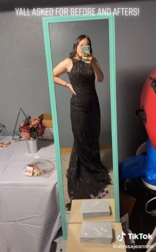 Невеста хотела сэкономить и давай красить платье.