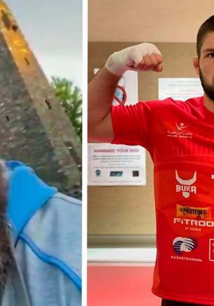 Рамзан Кадыров vs Хабиб Нурмагомедов, раунд 1. Люди узнали о хейте бойца главой Чечни, и в октагон вошли шутки
