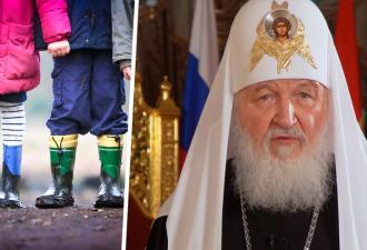 Патриарх Кирилл призвал женщин отдавать детей церкви вместо аборта, и те шутят. Ведь знают, зачем РПЦ младенцы