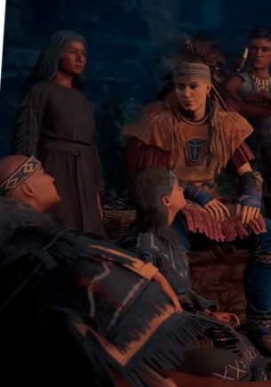Фанаты перевели речь индейцев из Assassin's Creed Valhalla и грустят. Ведь узнали — те бодишеймили Эйвора