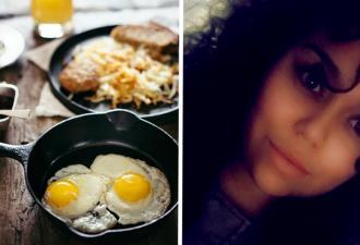 Блогерша разбила яйцо, а внутри сюрприз. И настолько неприятный, что теперь вы тоже перестанете есть омлет