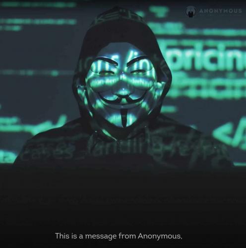 """Люди узнали об угрозах хакеров Anonymous Илону Маску и хотят развидеть видео. """"Кринж 99 уровня"""" - их вердикт"""