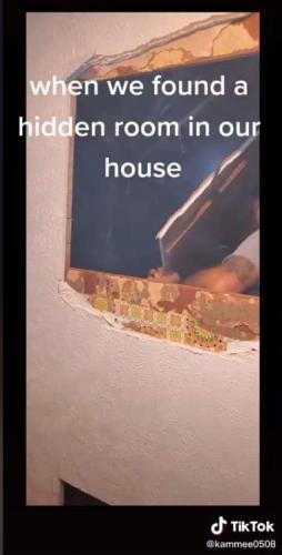 Хозяйка снесла стену в доме, а за ней не пустота, а портал.