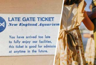 Бабуля развеселила внучку билетом на выставку 1983 года. Смех исчез, когда контролёр на входе оторвал корешок