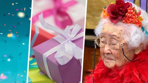Бабуля отметила свой 104-й день рождения, раскрыв секрет долголетия. Мы все его обожаем (особенно с сиропом)