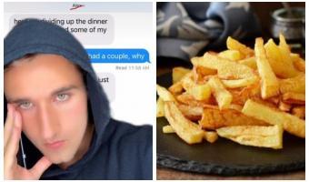 Сколько стоит дружба в картошке фри? Блогер узнал, когда получил счёт от приятеля, загибая пальцы (одной руки)