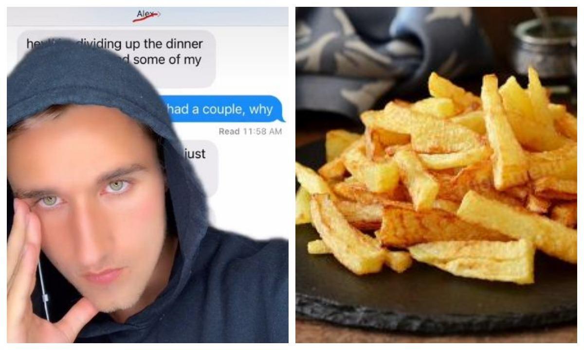 Сколько стоит дружба в картошке фри Блогер узнал, когда получил счёт от приятеля, загибая пальцы (одной руки)