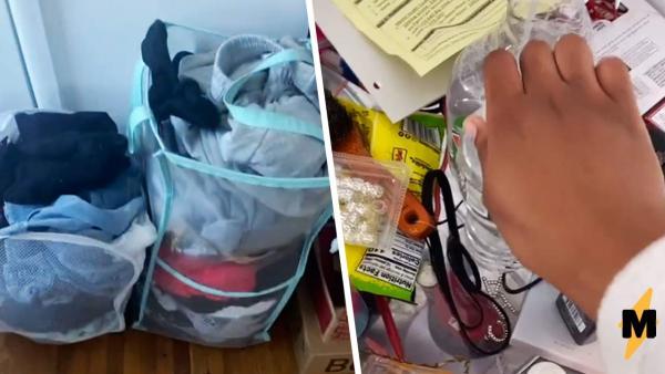 Блогерша показала комнату до и после уборки, и Золушка бы её оценила. Ещё бы, кадры - большой хук по депрессии