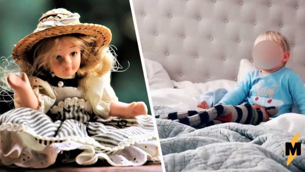 Кукла-двойник - залог спокойного сна сына, уверена мама. Но отец против - из-за её лайфхака ему нужен психолог