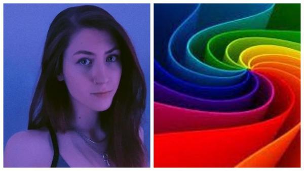 Блогерша показала иллюзию, ломающую глаза. Челледнж — развидеть настоящий фиолетовый цвет следующие пять минут