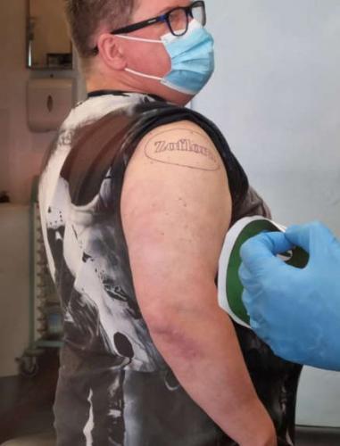 Фанат уборки хотел татуировку, которой нет ни у кого в мире. Теперь вы знаете, как выглядит тату с запахом