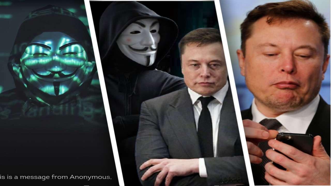 Людей рассмешили угрозы Anonymous в адрес Илона Маска. Они считают, что настоящий автор ролика уже выдал себя