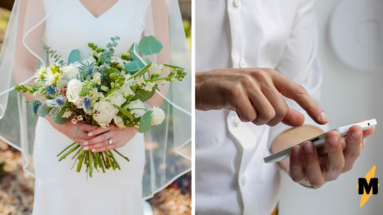 Муж увидел трансляцию свадьбы и узнал в невесте жену. Так он понял, что видео не постановка, а его брак  да