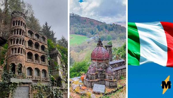 Туристы увидели в лесу кусочек Италии и не поверили глазам. Пизанская башня, что ты забыла в такой глуши?