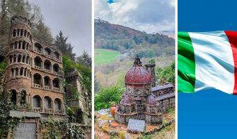 Турист нашёл в английском лесу кусочек Италии и не верит глазам. Пизанская башня, что ты забыла в такой глуши?