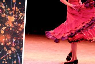 От сальсы танцовщицы выступают слёзы на глазах. Из-за этого сложно заметить, сколько её ног участвуют в танце