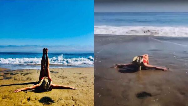 Видео Бритни Спирс из отпуска – пруф конспирологов. Увидев кадры, они поняли – всё это время их обманывали