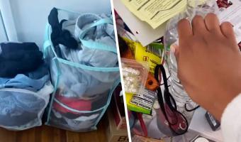 Блогерша показала, во что превратила грязную комнату. Её уборка — хук не только по мусору, но и по депрессии