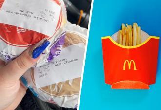 Чизбургер или чикенбургер? Лайфхак фанатки «Макдоналдса» отменил муки выбора (но оскорбил чувства гурманов)