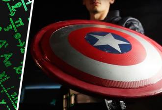 Капитаном Америка может стать каждый. Проверил инженер, чей щит Кэпа из стройматериалов не уступает оригиналу