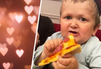 Хасбик на видео ест пиццу, а с ней — сердца фанов. Услышав речь Хасбуллы, они поняли — мемам нужен новый герой