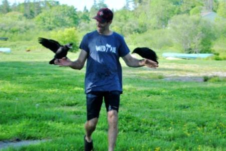 Не хотим сказать, что ворон реднек, но его хозяин явно знает Тревора из GTA V.