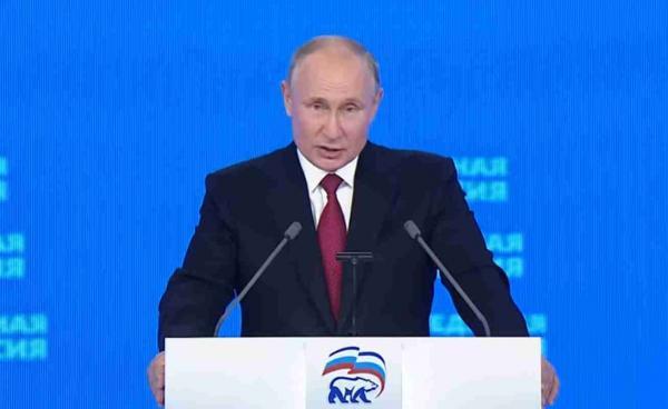 Люди посмотрели XX съезд Единой России и шутки не остановить. Ведь фразы от Владимира Путина попали в сердечко