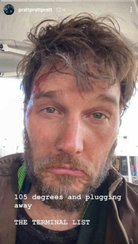 Крис Пратт, ты что без дома остался? Актёр показал новое фото , а там вместо Звёздного Лорда бородач из перехода