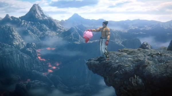 Трейлер игры Super Smash Bros. Ultimate принёс геймерам мем о расправе. Кадзуя Мисима, за что ты так с Кирби?