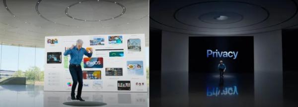 Крейг Федериги на презентации Apple - мем вечера. Так увильнуть от разговора про приватность может не каждый